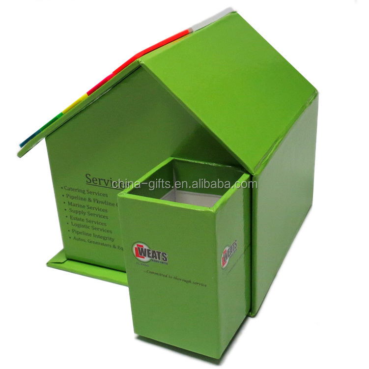 House shaped sticky notepad/Memo pad