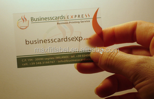 2017 Customized Letterpress Embossing Color Edge Business Card Printing