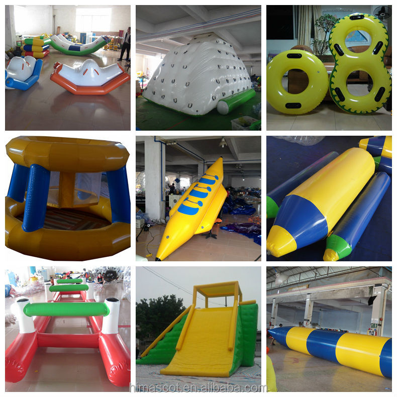 outdoor inflatable park kids sea ocean shark themed inflatable amusement park