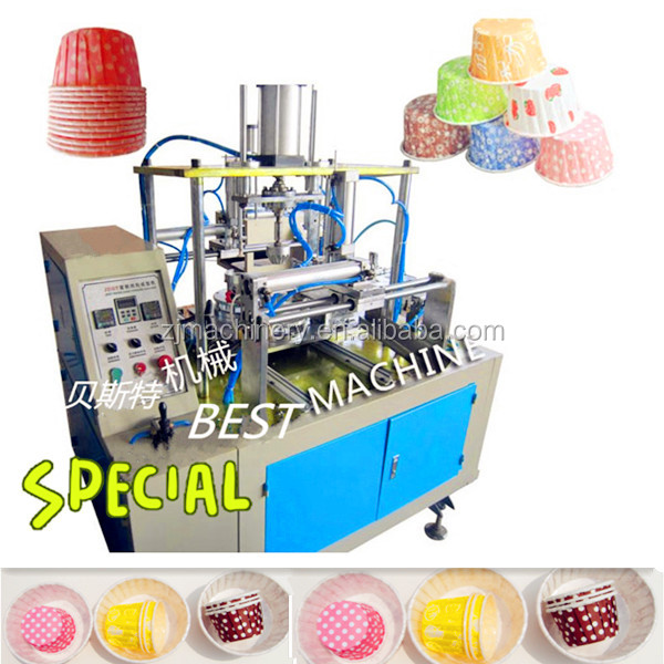 automatic Curling Cake cup Machine