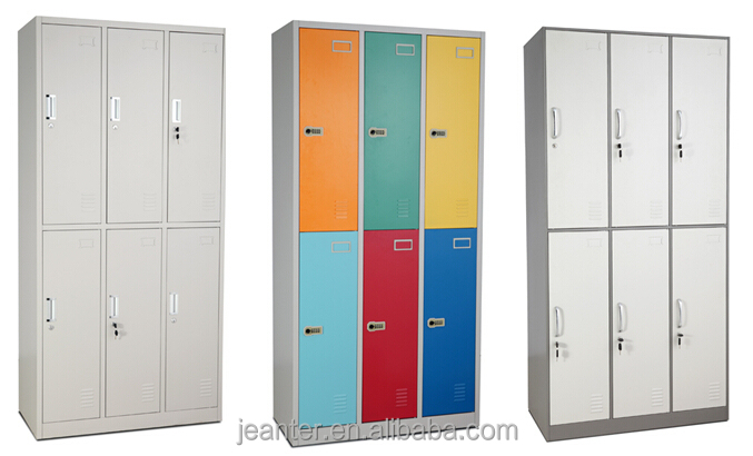 Lovely Bedroom Furniture Storage Cabinet Small Metal Wardrobe Closet