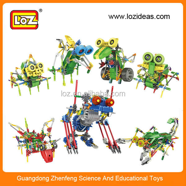 Diy toy electronic building blocks toys educational robot kit for children