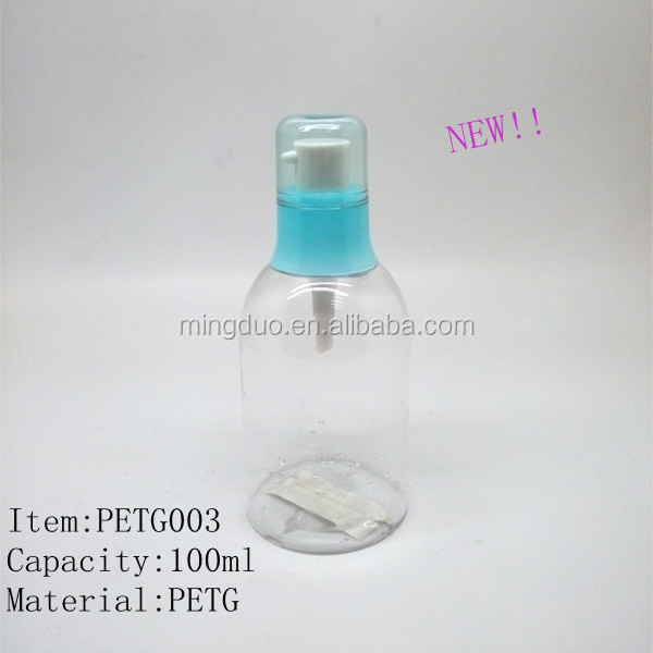 100ml,120ml,150ml,200ml PET plastic bottle,lotion bottle