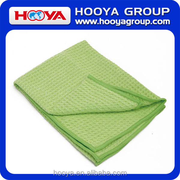 40*40cm 80% dacron+20% chinlon Pineapple Grid Microfiber Towel