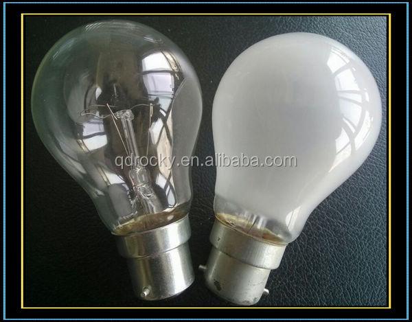 Ps55 E27 220v 60w 75w 100w Incandescent Regular Bulb Buy Regular Bulb Incandescent Regular