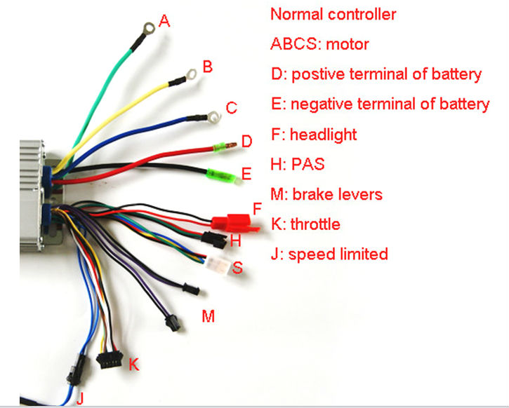 electric brake breakaway wiring diagram electric trailer brakes breakaway wiring diagram 48v 26a interlligent controller for electric bike buy
