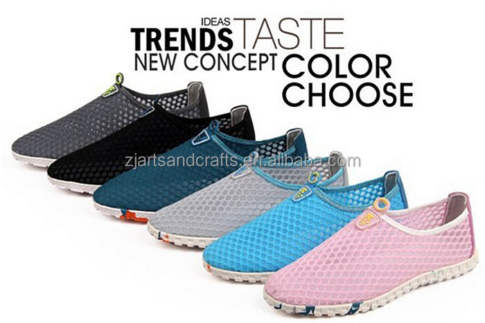 Wholesale fashion breathable flat sports shoe for couples