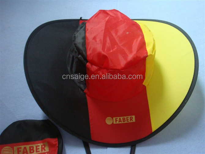2014 New arrival foldable beach hats