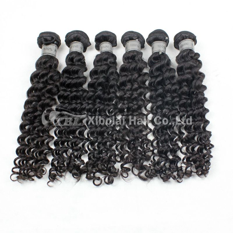 Philippine Deep Wave 100% Human Virgin Hair with Top Quality Best Selling