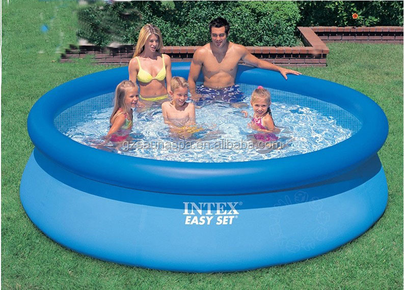 2014 new design intex piscinas buy family inflatable for Albercas armables intex