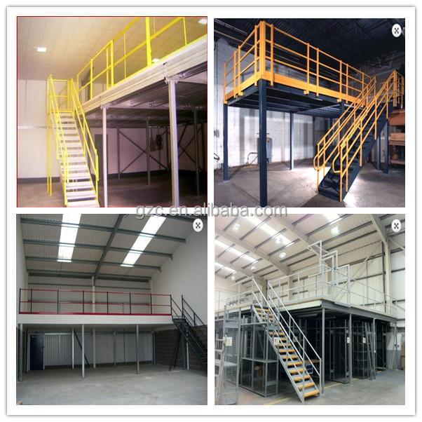 Industrial steel storage multi layer mezzanine floor view mezzanine gzc product details from - Kind mezzanine kantoor ...
