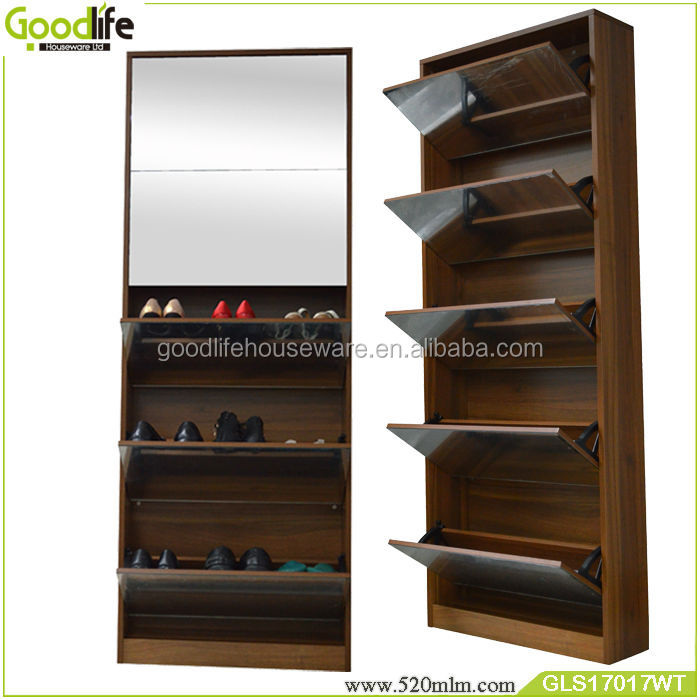 Shoe holder walmart furniture with mirror doors