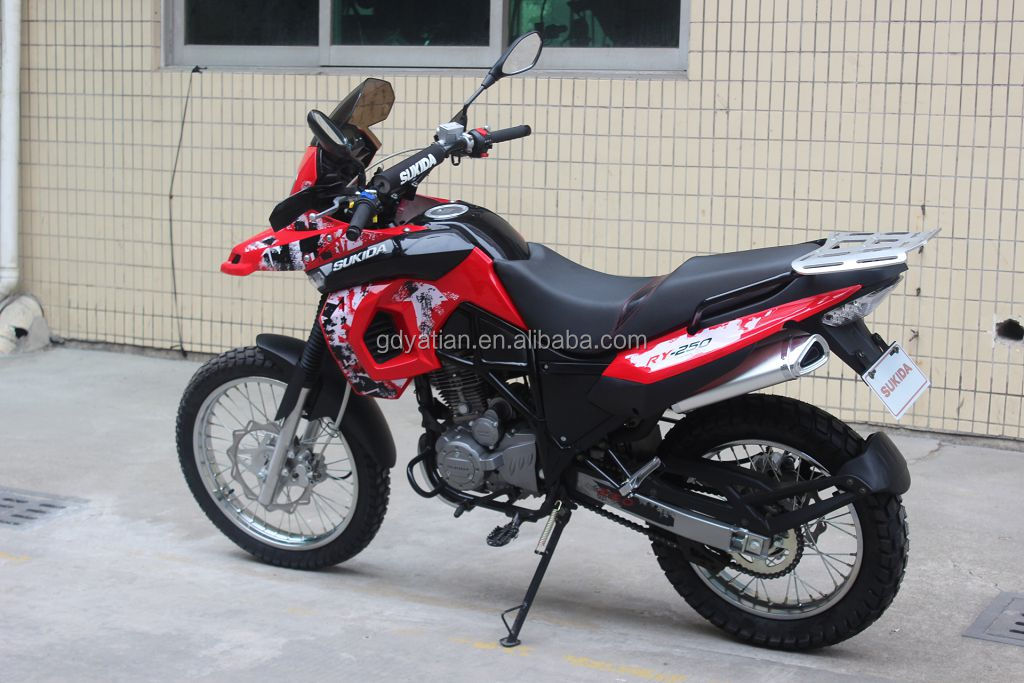 Latest design 250cc top quality street off-road motorcycle