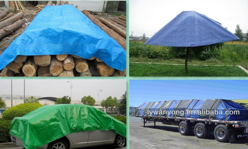 high quality cheap pe tarpaulin sheet with UV-treated for tent / truck / boat