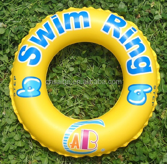 2014 Popular PVC inflatable ring swim ring