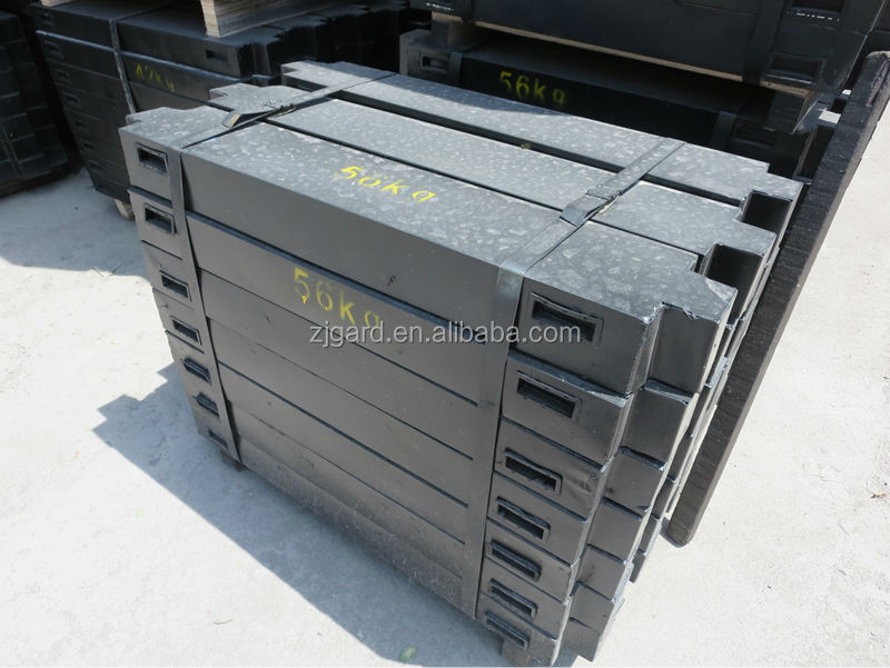 cast-iron equilibrator for linear elevator, elvator parts