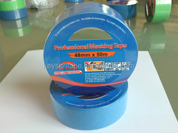 High Quality 14 Days UV Painter Masking Tape from China Adhesive Manufacturer