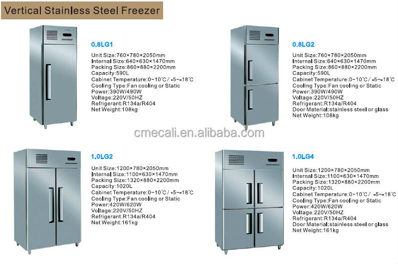 New Commercial Deep Freezer with CE good price and high quality