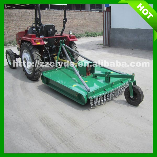 Tractor Mounted Brush Cutter : Agricultural equipment tractor driven slasher mower brush
