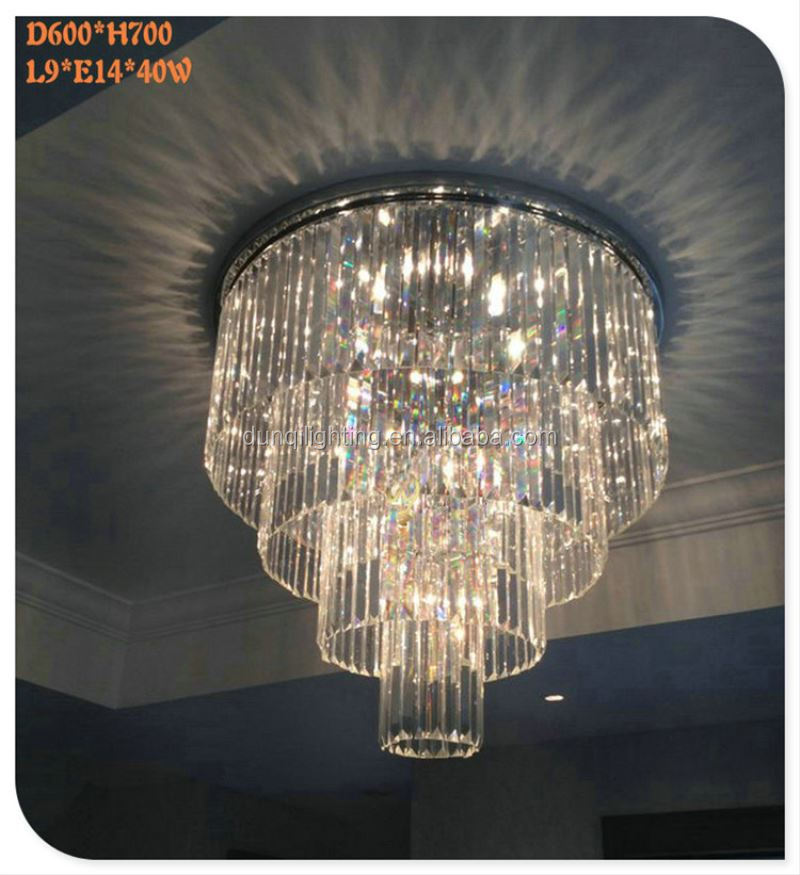 2017 new arrival factory customize OEM hotel home decor chandelier
