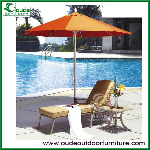 cast aluminium lounge for swimming pool or hotel