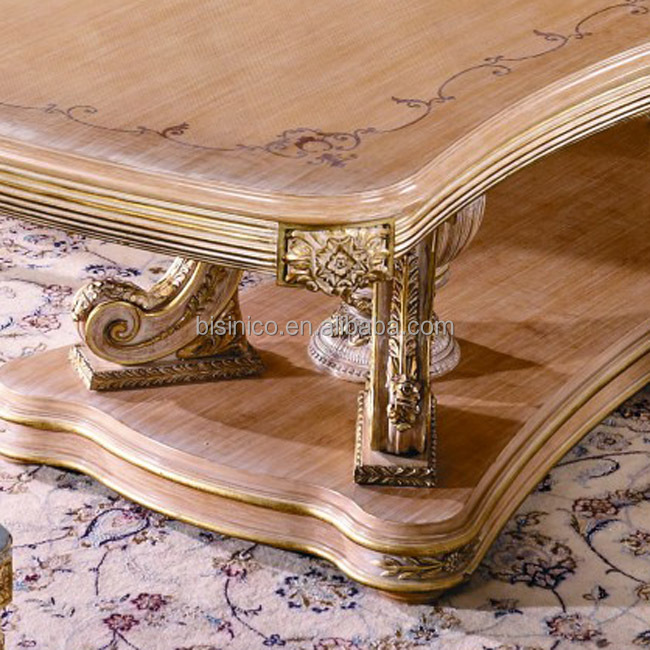 Bisini Furniture Luxury Long Dining Table For Big Family