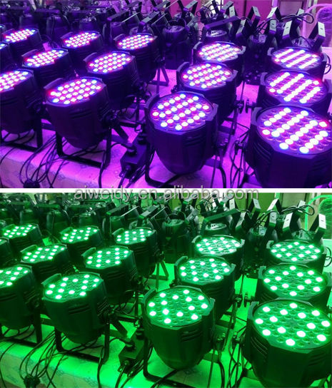 18*10W 4 in 1 Rgbw Stage Light LED PAR Can