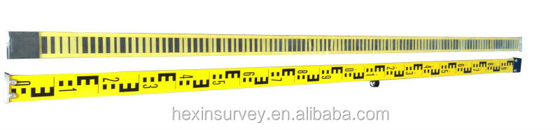 FOIF digital level with 2 piece 2m fiberglass barcode staff