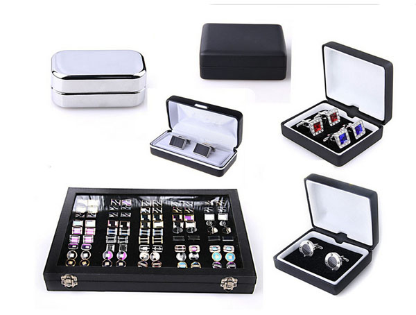 2015 most popular cufflink and tie clip boxes