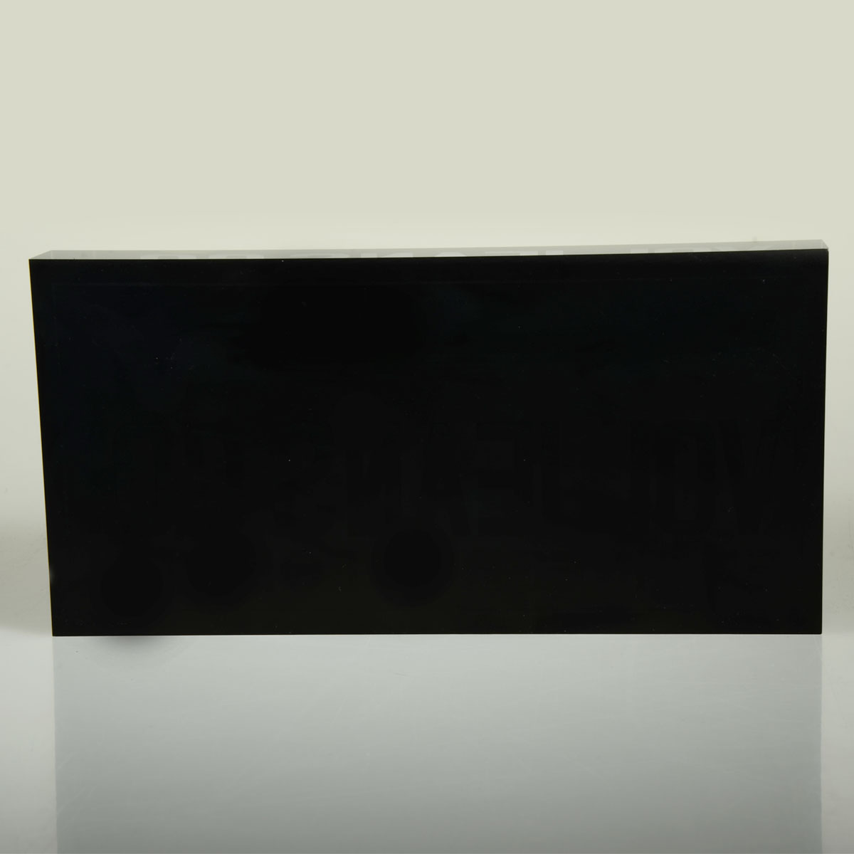 Solid Clear Magnetic Acrylic Block,