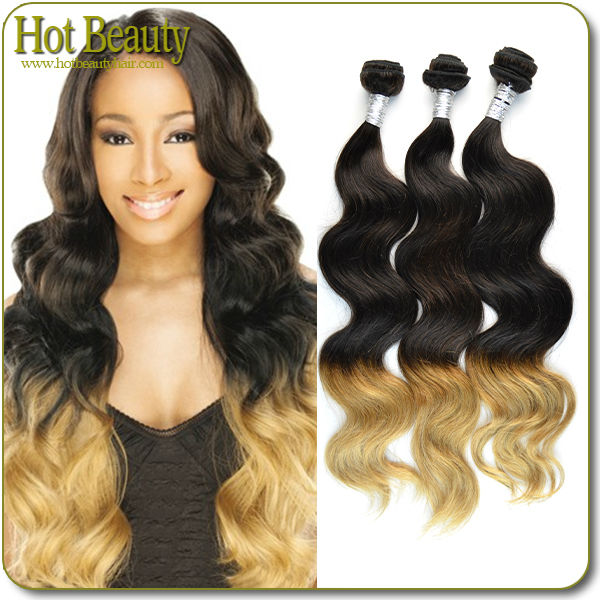 Different Size Different Colors Hair Virgin Brazilian Cheap Ombre