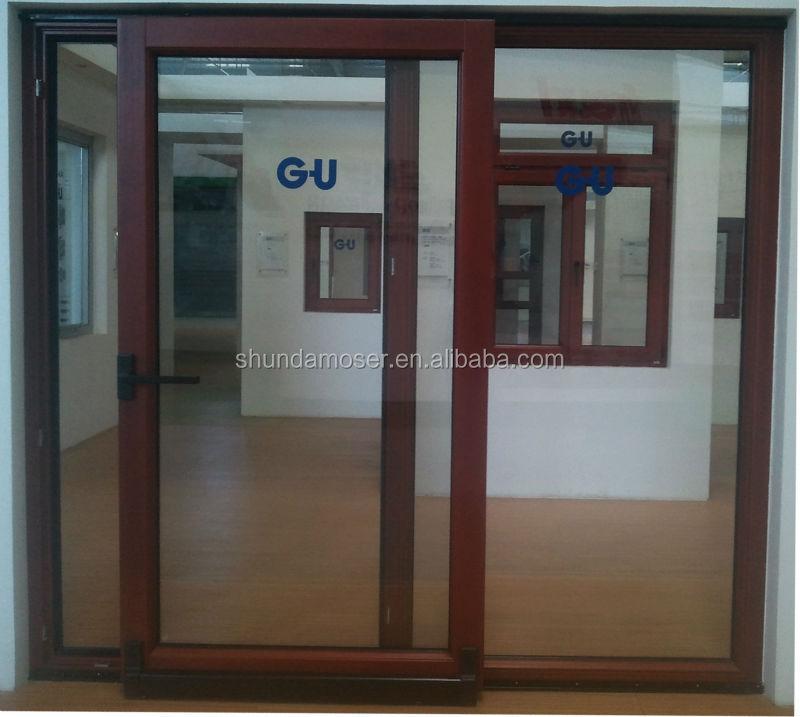 Wood frame sliding glass door wooden door frame buy for Long sliding glass doors