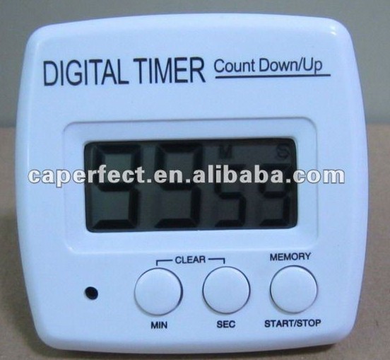 100 minutes or 20 hours household Usage Digital Kitchen Cooking Timer With Alarming