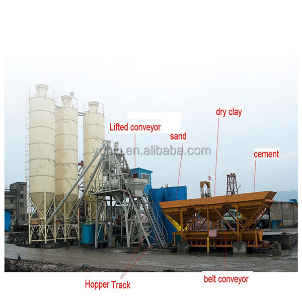 Small Cement Plant : Hzs small portable concrete batching plant buy