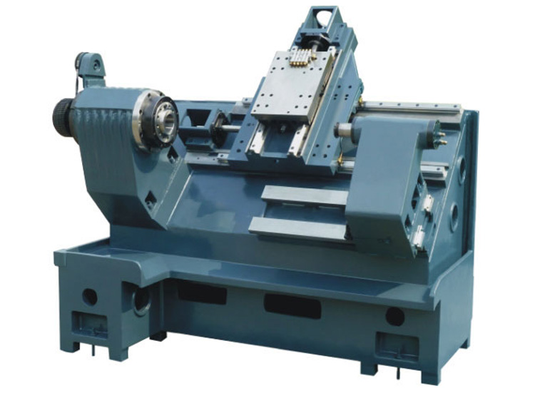 JASU L-5075 CNC Turning Center with VDI turret for Precision milling drilling tapping function