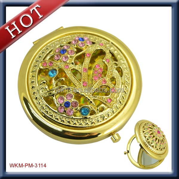2015 new product metal cosmetic mirror