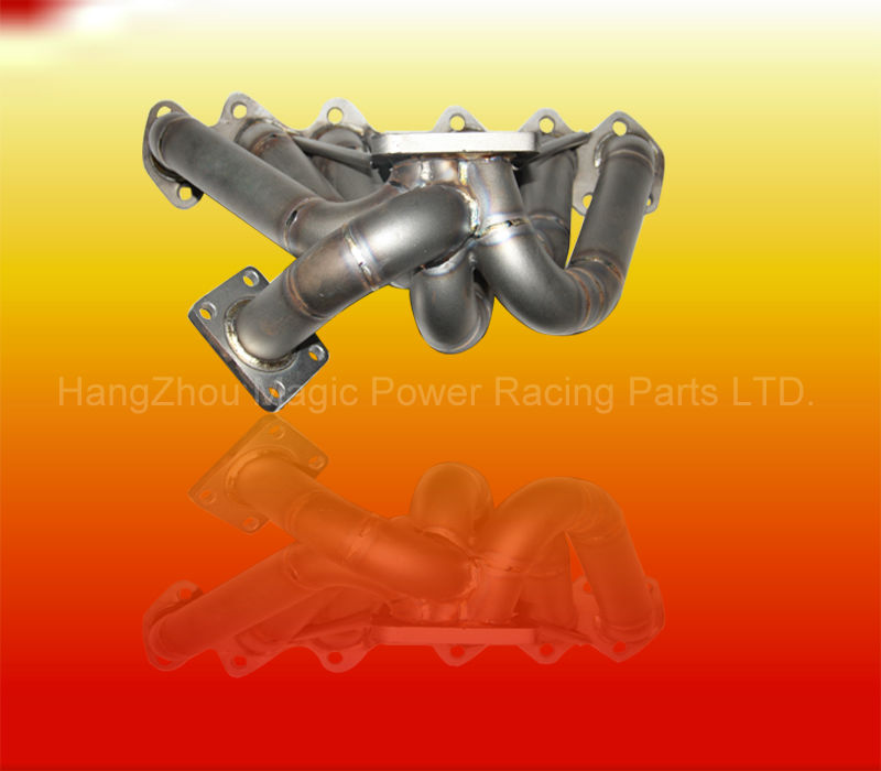 SCHEDULE 40 PIPE TWIN TURBO CHARGER MANIFOLD FOR 93-98 T*OYOTA SUPRA MK4 2JZGTE JZA80 (Fits: T*oyota Supra)