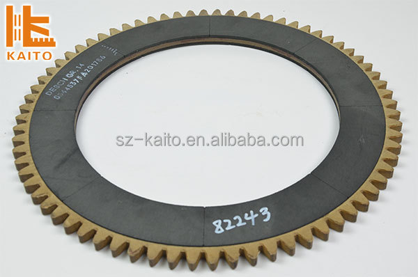 Milling machine cluth friction plate