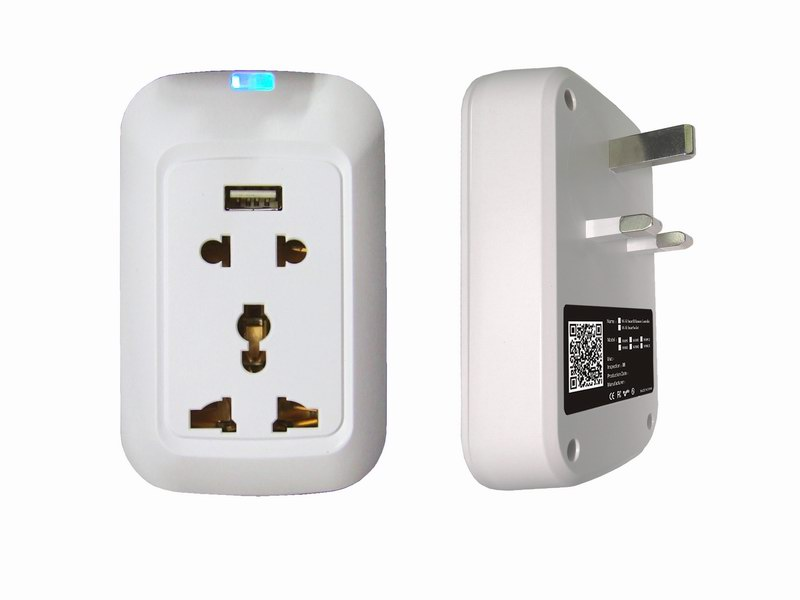 Home Automation With smart wifi plug socket, Cloud Server Enable ...