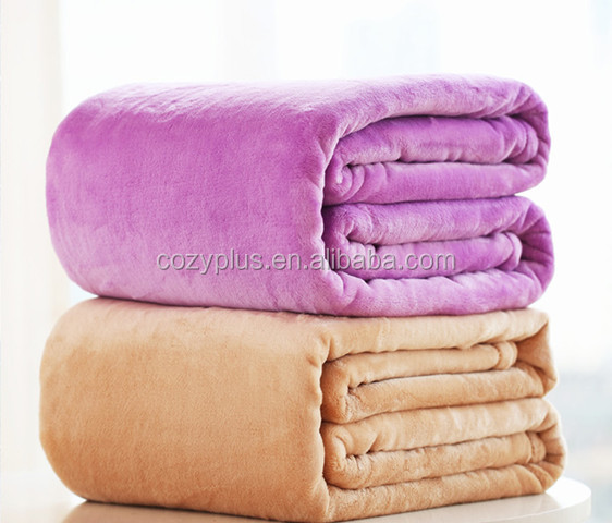 100% Polyester Printed Flannel Fleece Blanket