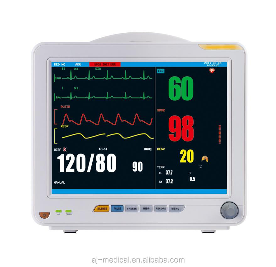 15 inch Touch Screen High Performance Multi-parameter Patient Monitor