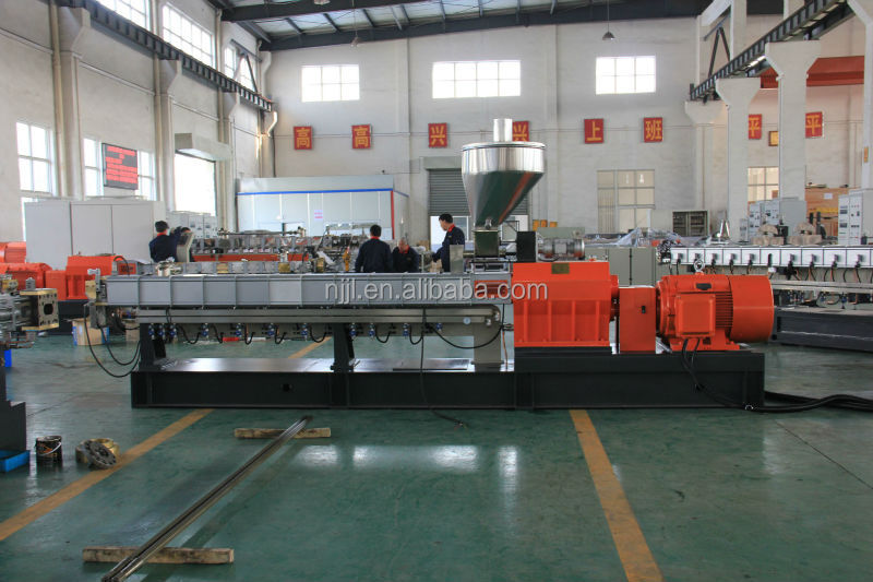 Twin screw extruder for pure color masterbatch production line