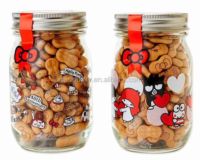 glass baby food jars wholesale biscuit glass jars with metal lids for sale buy glass baby food. Black Bedroom Furniture Sets. Home Design Ideas