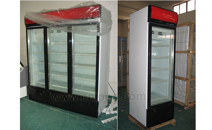 Upright Supermarket Beverage Juice Display Refrigerator Showcase/Cold Drink Refrigerator/Soft Drink Refrigerator