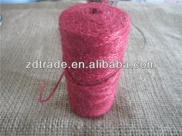 2014 HOT jute twine rope spool for home decor