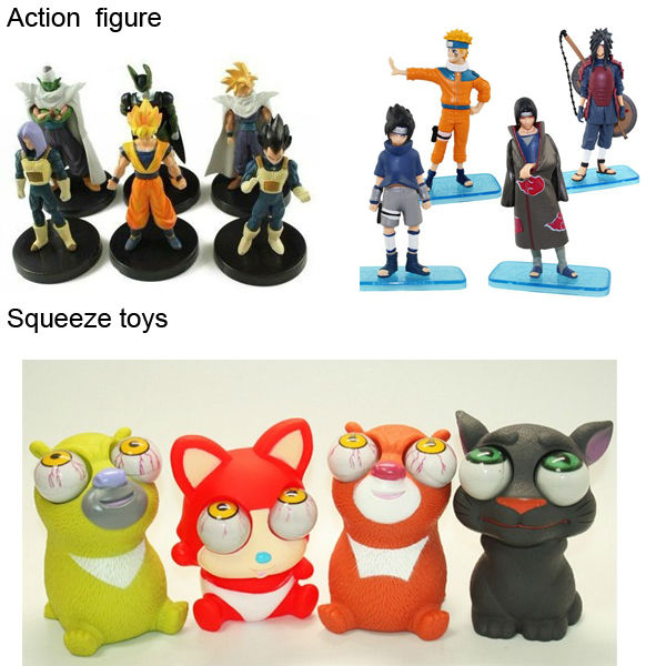 Japanese Cartoon Figure / Clay Cartoon Figure