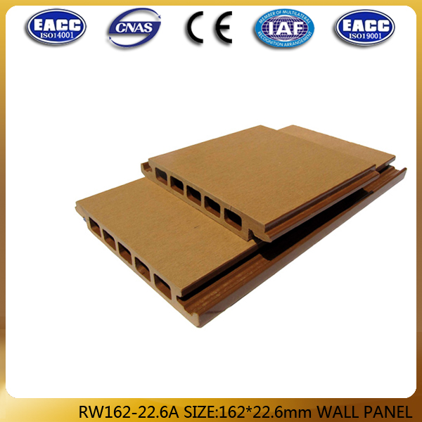 162*22.6mm wall caldding, WPC wall panel