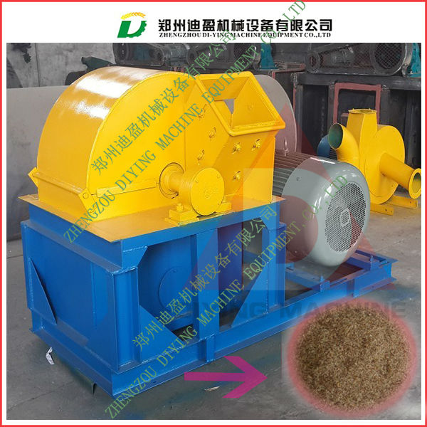 Hot Sale Diesel Engine Hammer Mill Wood Crusher , Wood Branch Sawdust Mill , Wood Grinder Powder Mill