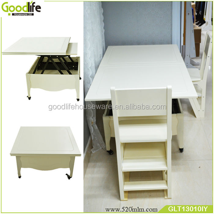 Foldable and extendable dining table modern appearance
