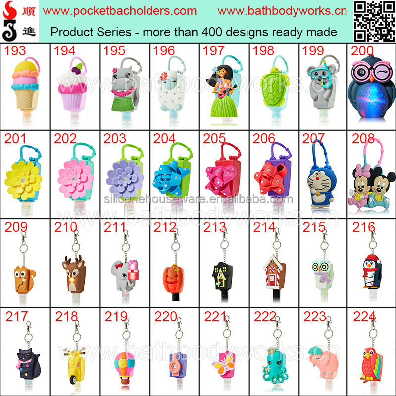 The Lastest Bath and Body Works Spook Owl Light Up 29ml Hand Sanitizer PocketBac Holders